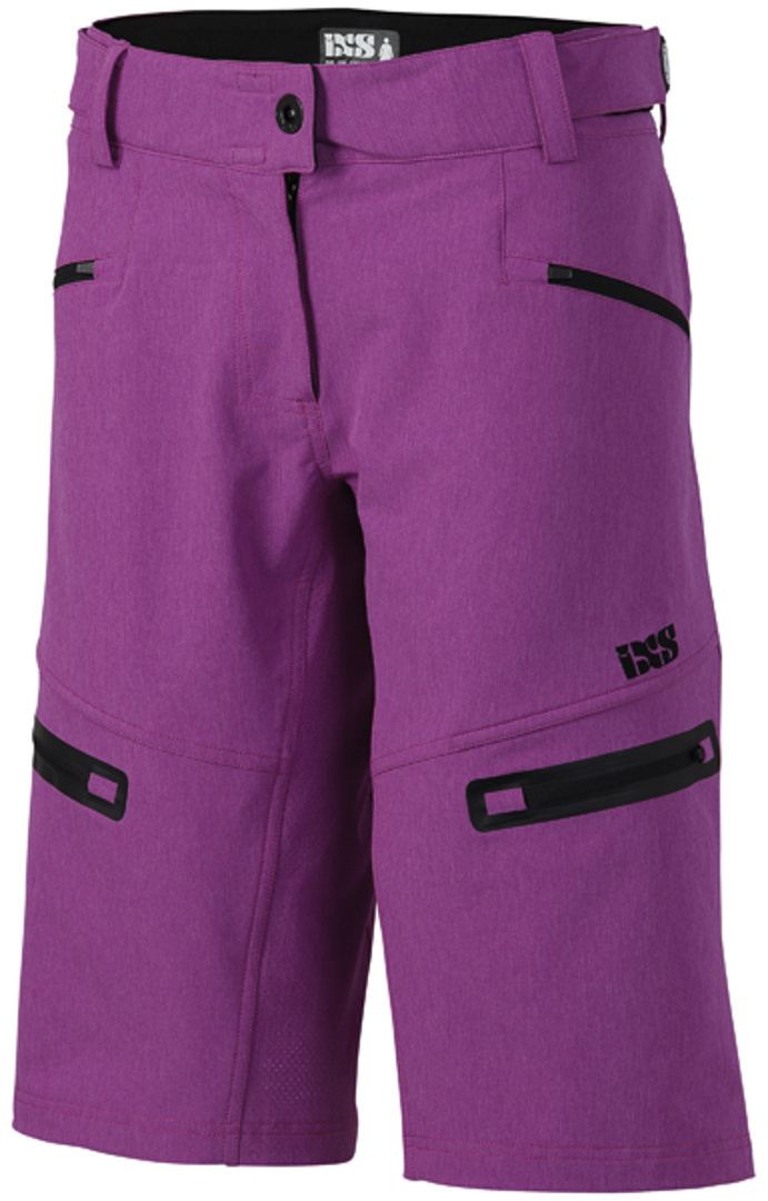 IXS Sever 6.1 BC Ladies Shorts, pink, Size M for Women, pink, Size M for Women