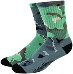 Troy Lee Designs Mixed Camo Crew Socks