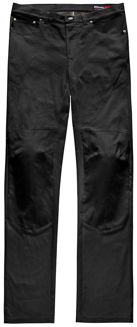 Blauer Kevin 5 Pocket Canvas Hose Schwarz 30