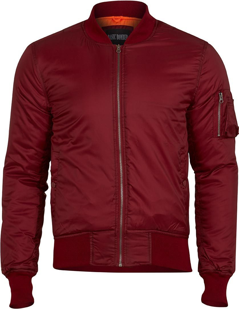 Surplus Basic Bomber Jacket, red, Size 5XL, red, Size 5XL