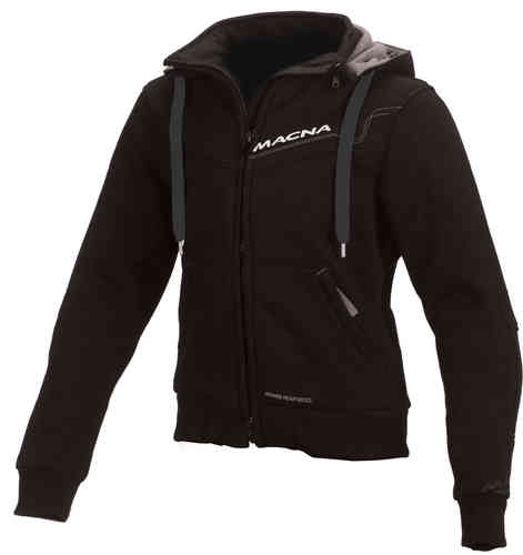Image of Macna Freeride Ladies Hoodie del motociclo Nero M