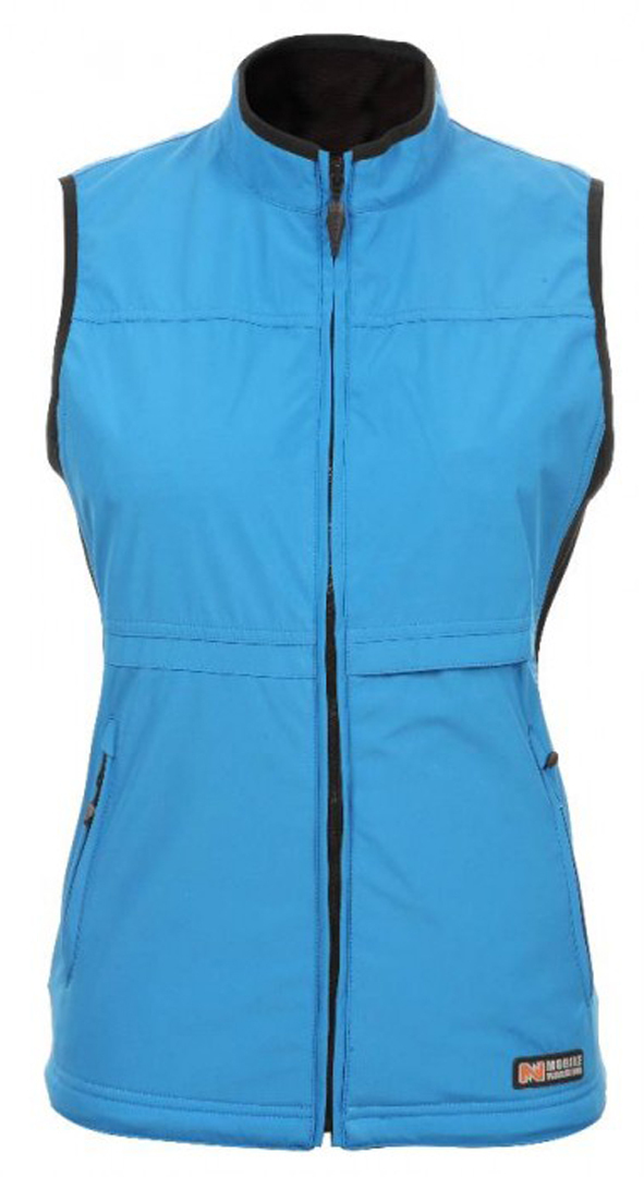 Mobile Warming Softshell 2 Chaleco Women´s Azul L