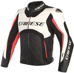 Dainese Misano D-Air Airbag Motorcycle Leather Jacket