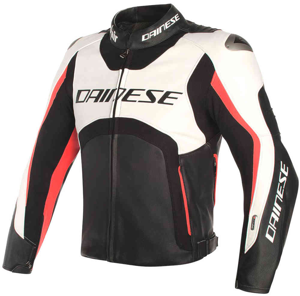 Dainese Misano D-Air Airbag Giubbotto moto in pelle