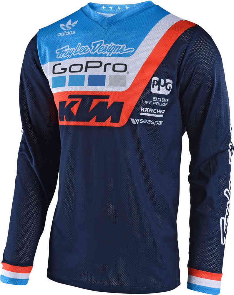 Troy Lee Design Gp Air KTM Team MX MTB Enduro Guanti Motocross