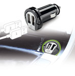 Cellularline USB Car Charger Dual Adaptér