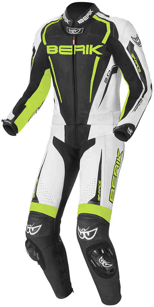 Berik Race-X Two Piece Motorcycle Leather Suit