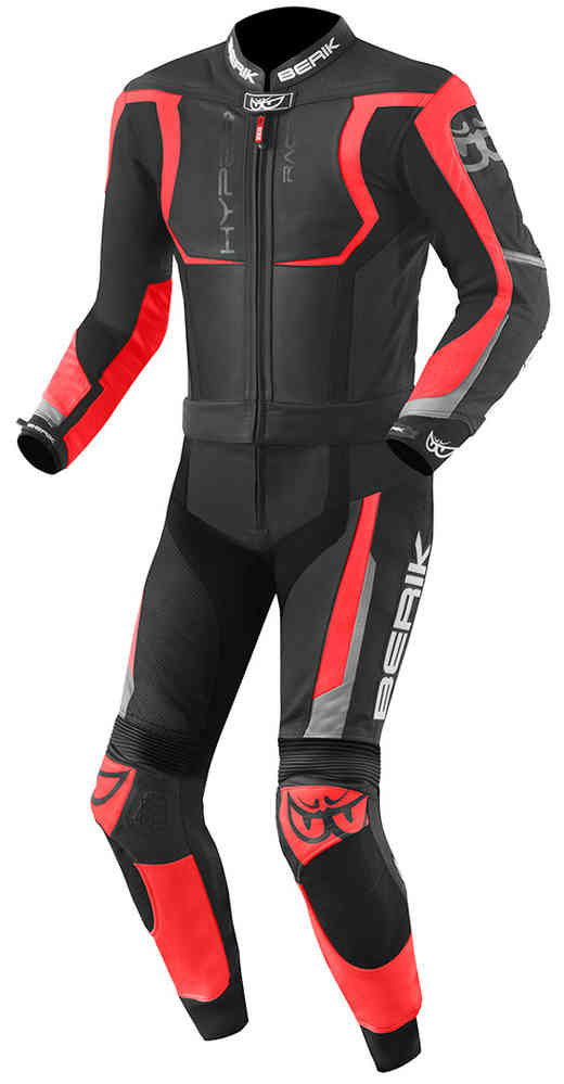 Berik Misano Two Piece Motorcycle  Leather Suit