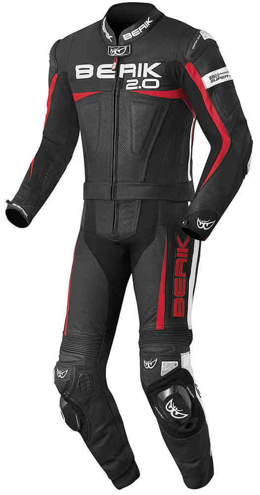 Berik Flumatic Evo Two Piece Motorcycle Leather Suit