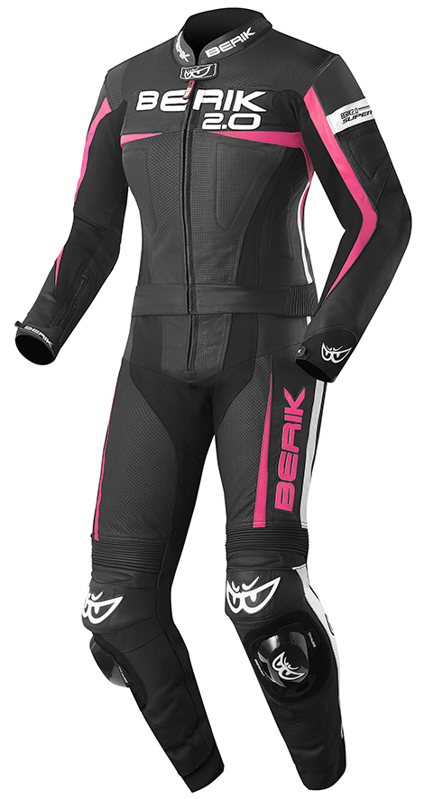 Berik Flumatic Ladies Two Piece Motorcycle Leather Suit