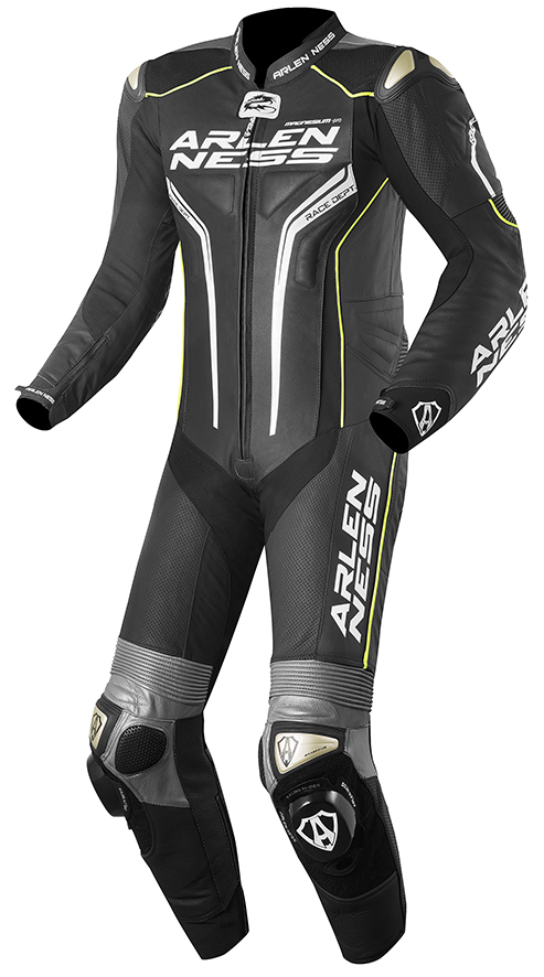 Arlen Ness Sugello One Piece Motorcycle Leather Suit