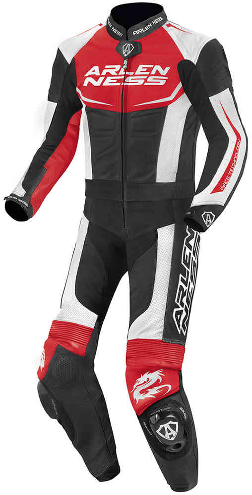Arlen Ness Aragon Two Piece Motorcycle Leather Suit