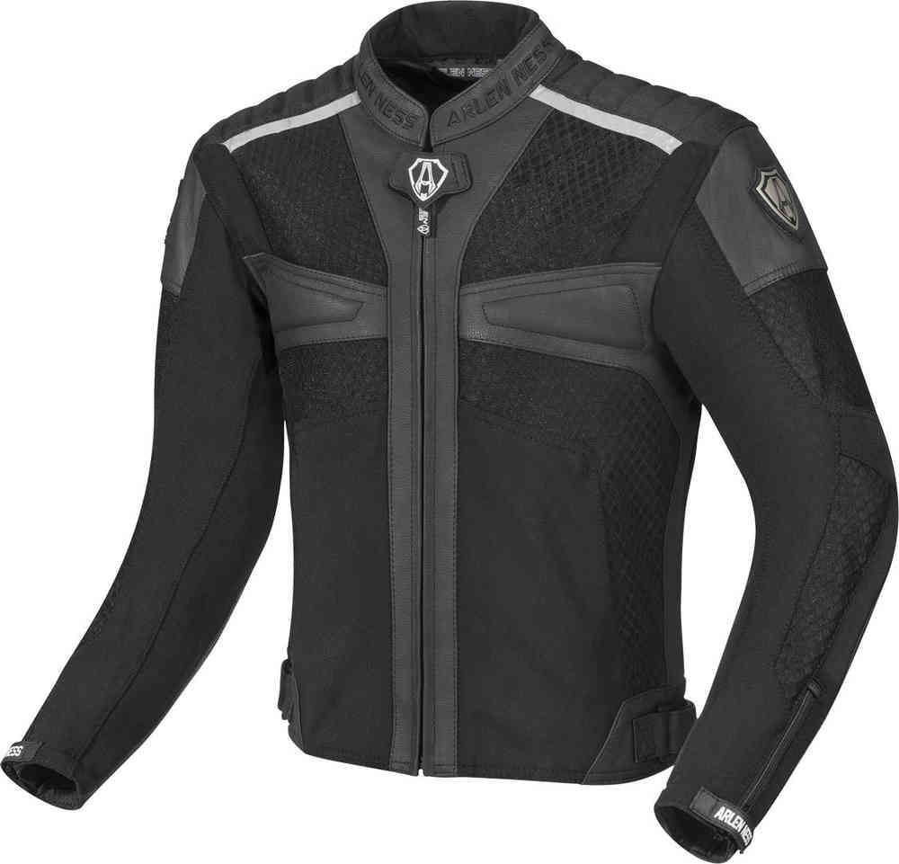 Arlen Ness Tek-Air Summer Motorcycle Leather/Textile Jacket