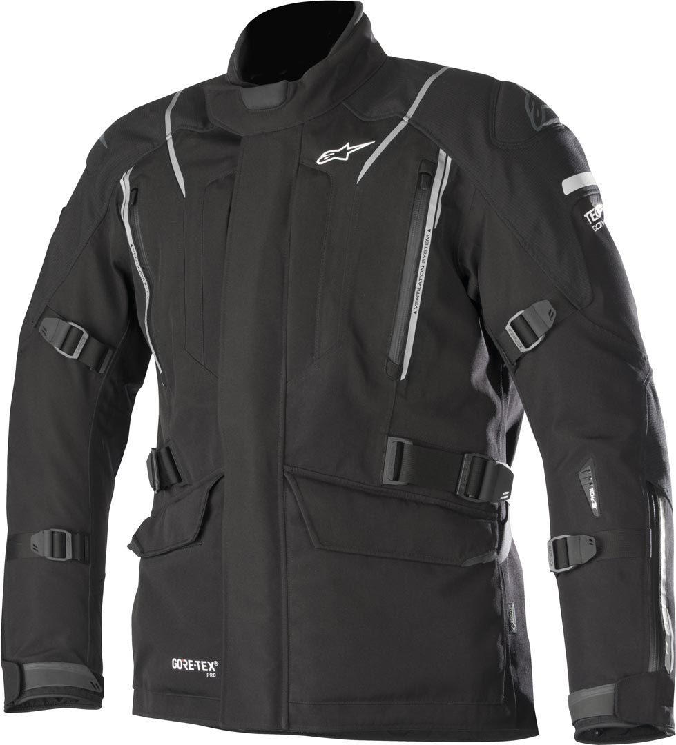 Alpinestars Big Sure Gore-Tex Pro Tech-Air Motorrad Textiljacke Schwarz S