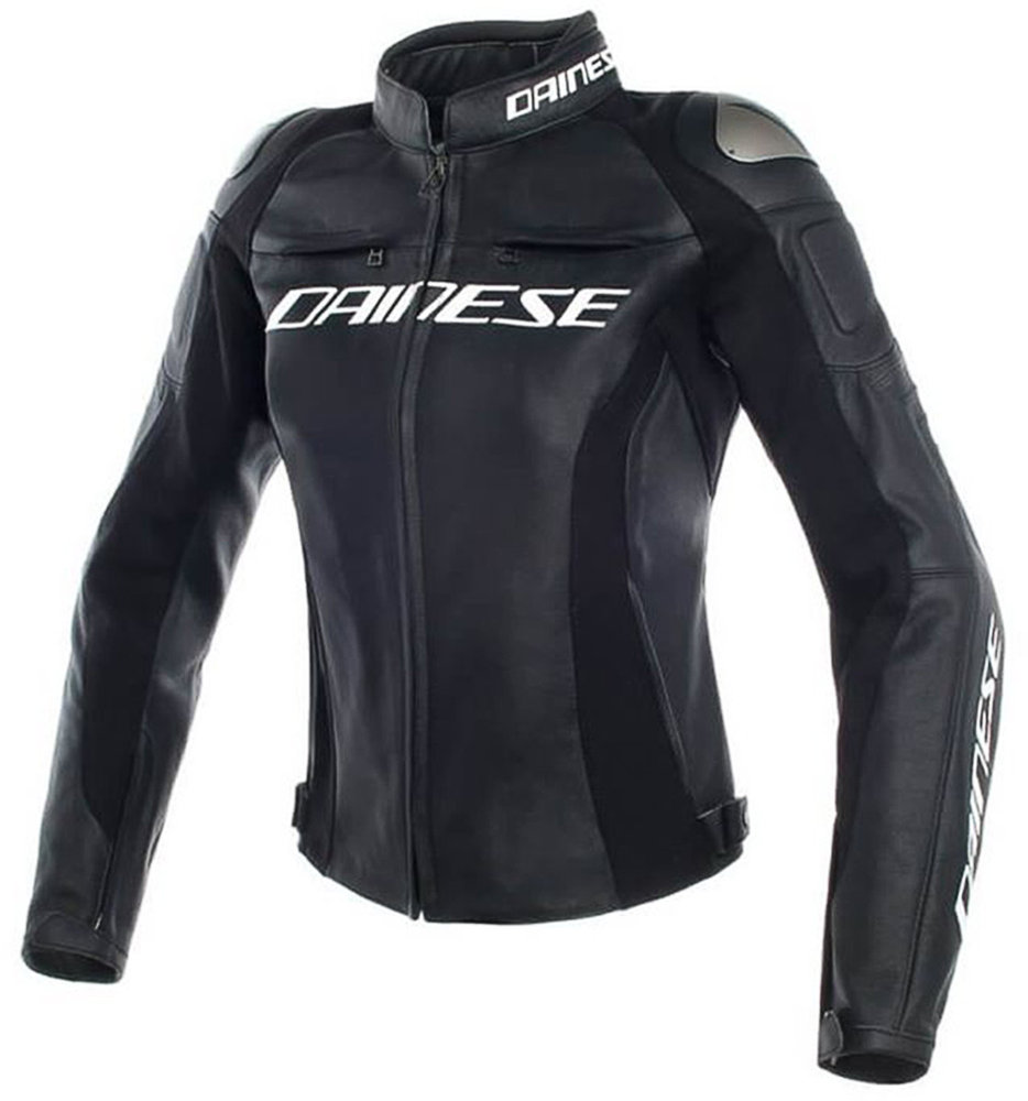 Dainese Racing 3 Ladies Motorcycle Leather Jacket - buy cheap ▷ FC-Moto 8a2666aeba3