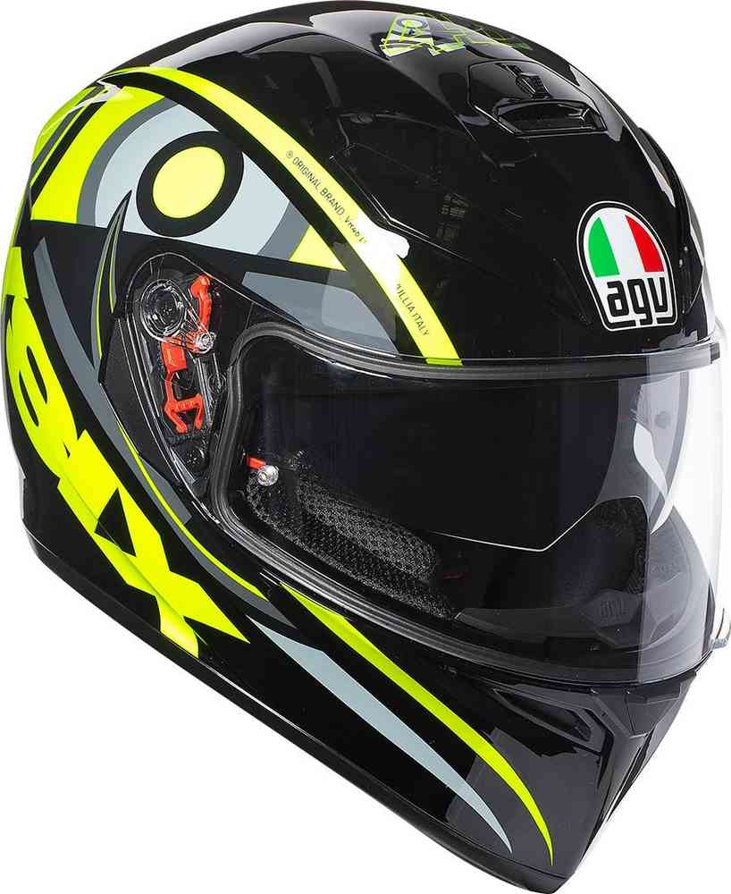 AGV K3 SV Morbidelli 2017 Rossi Fast /'N Free Shipping! Free Pinlock included