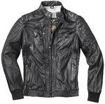 Black-Cafe London Detroit Veste en cuir de moto