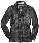 Black-Cafe London Classic Motorrad Lederjacke