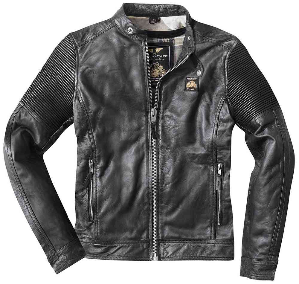 Black-Cafe London Milano Leather Jacket