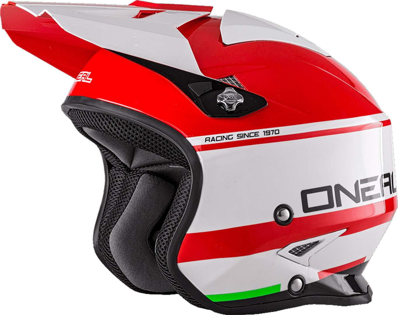 O´Neal Slat Crimson Trial Helmet, white-red, Size XS, white-red, Size XS