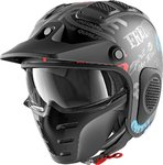 Shark X-Drak Freestyle Cup Mat Jet helm