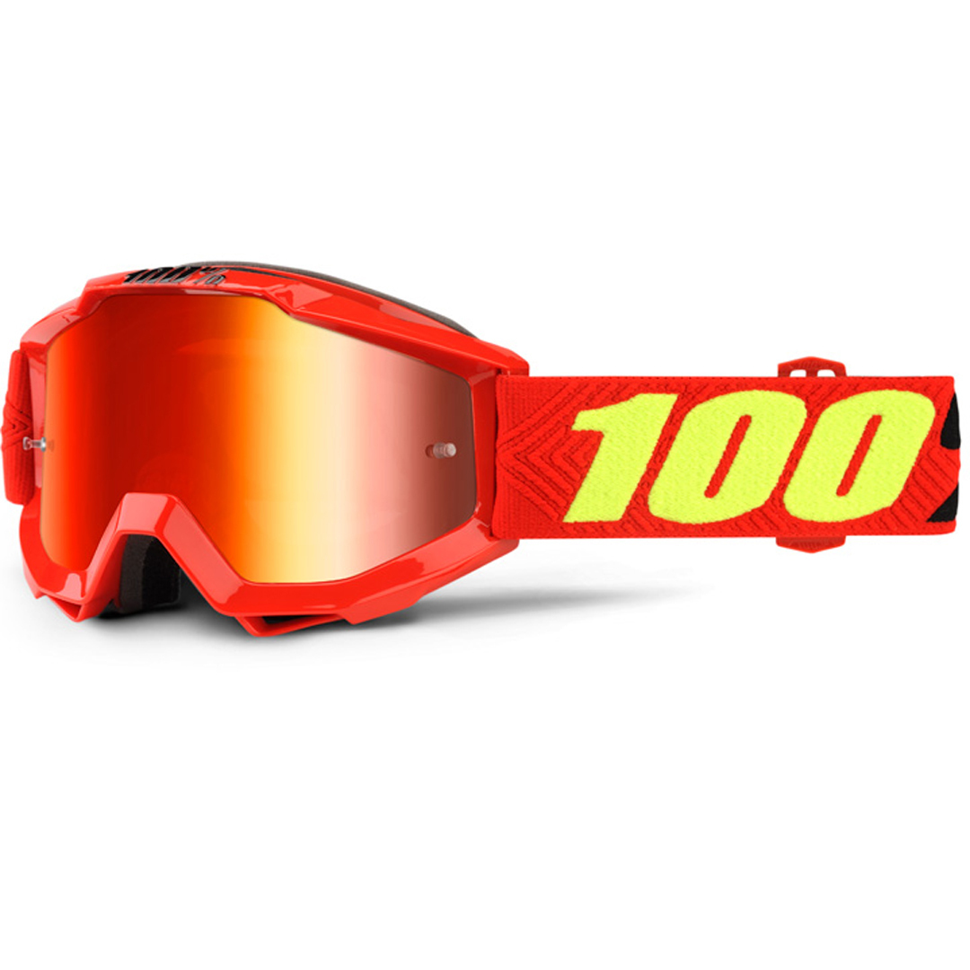 100% Accuri Extra Kinder Motocross Brille, rot-gelb, rot-gelb RC Modellbau