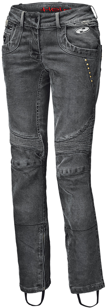Held Road Queen Damenjeans Schwarz 3XL