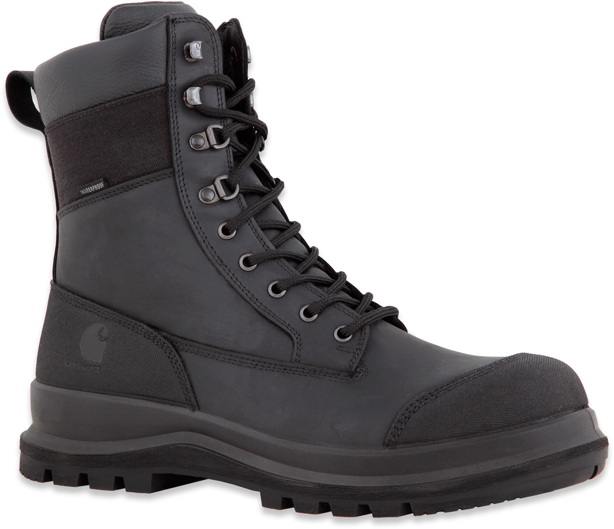 Carhartt Detroit Rugged Flex S3 High Stiefel Schwarz 39