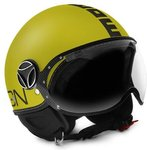 MOMO FGTR Classic Casco giallo del getto / antracite