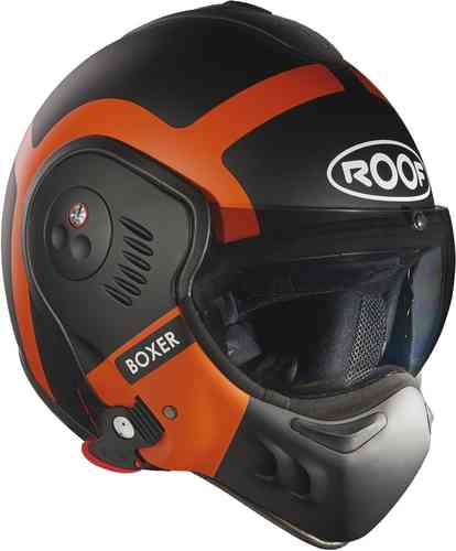 Roof Boxer V8 Bond Casco Naranja Mate L (60)