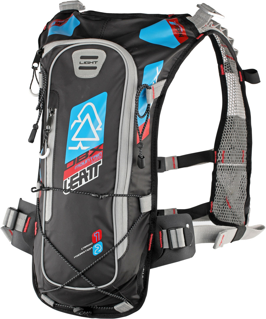 Leatt Mountain Lite WP2 Hydration Rucksack, rot-blau, rot-blau