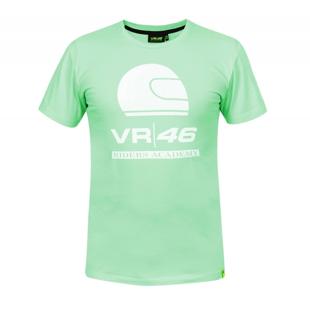Image of VR46 Riders Academy Mint T-shirt Verde S