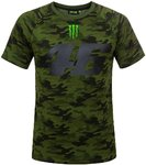 VR46 Monster Camp Camouflage Футболка