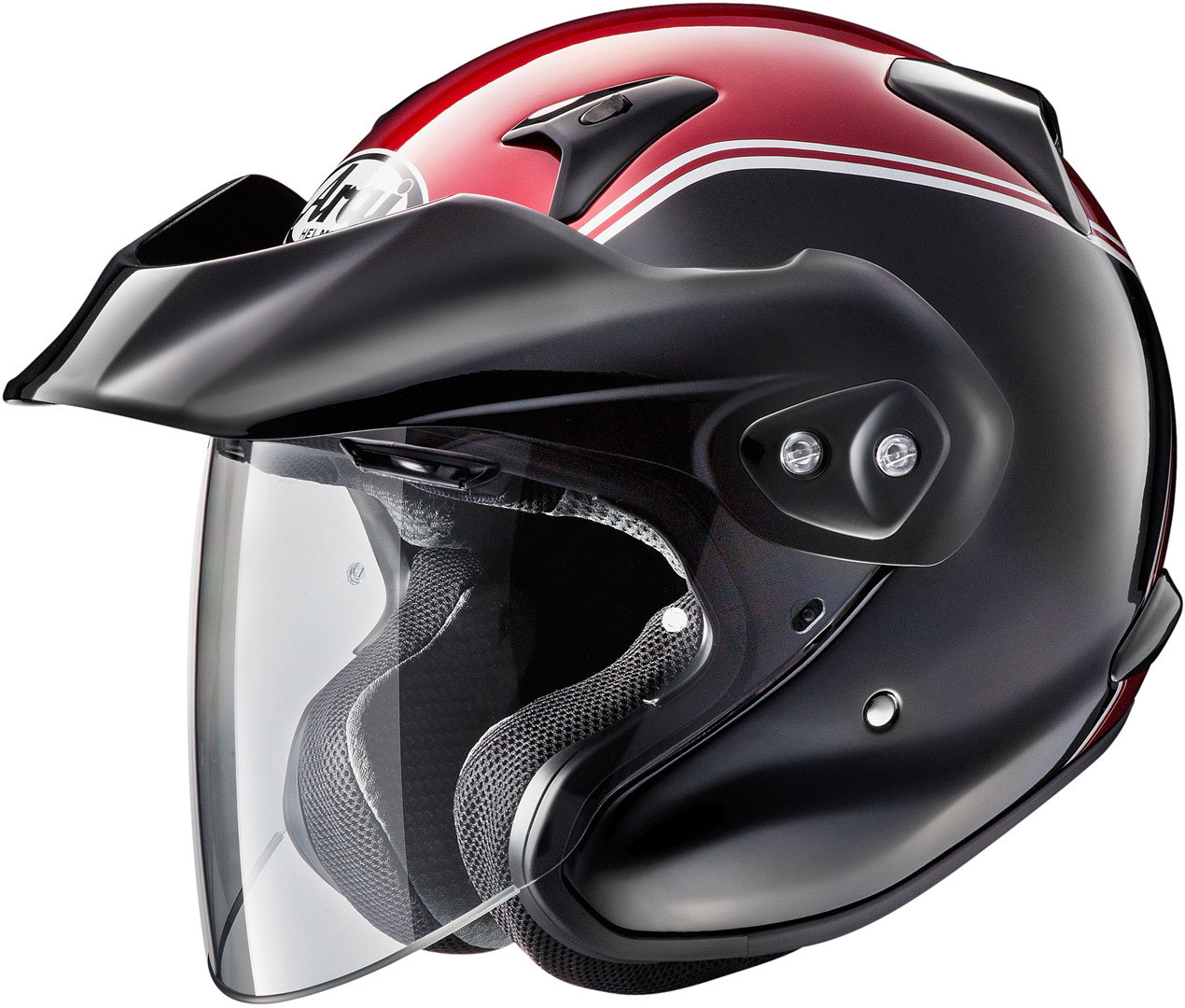 Arai CT-F Goldwing Jethelm Schwarz Rot XS