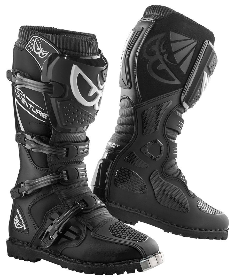 BROWN 10,5 = 43,5 Alpinestars Firm Boots Bottes de moto Cafe Racer