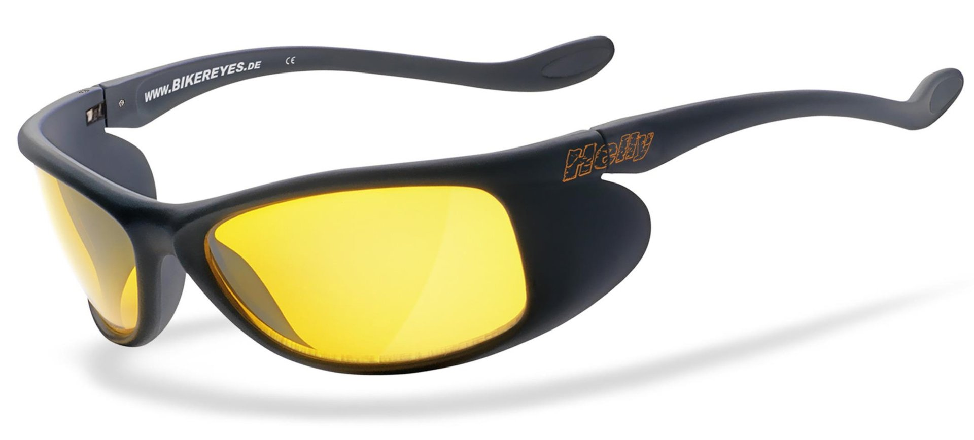Helly Bikereyes Top Speed 4 Sonnenbrille, gelb, gelb