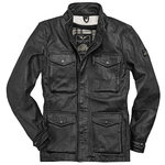 Black-Cafe London Manhattan Lederjacke