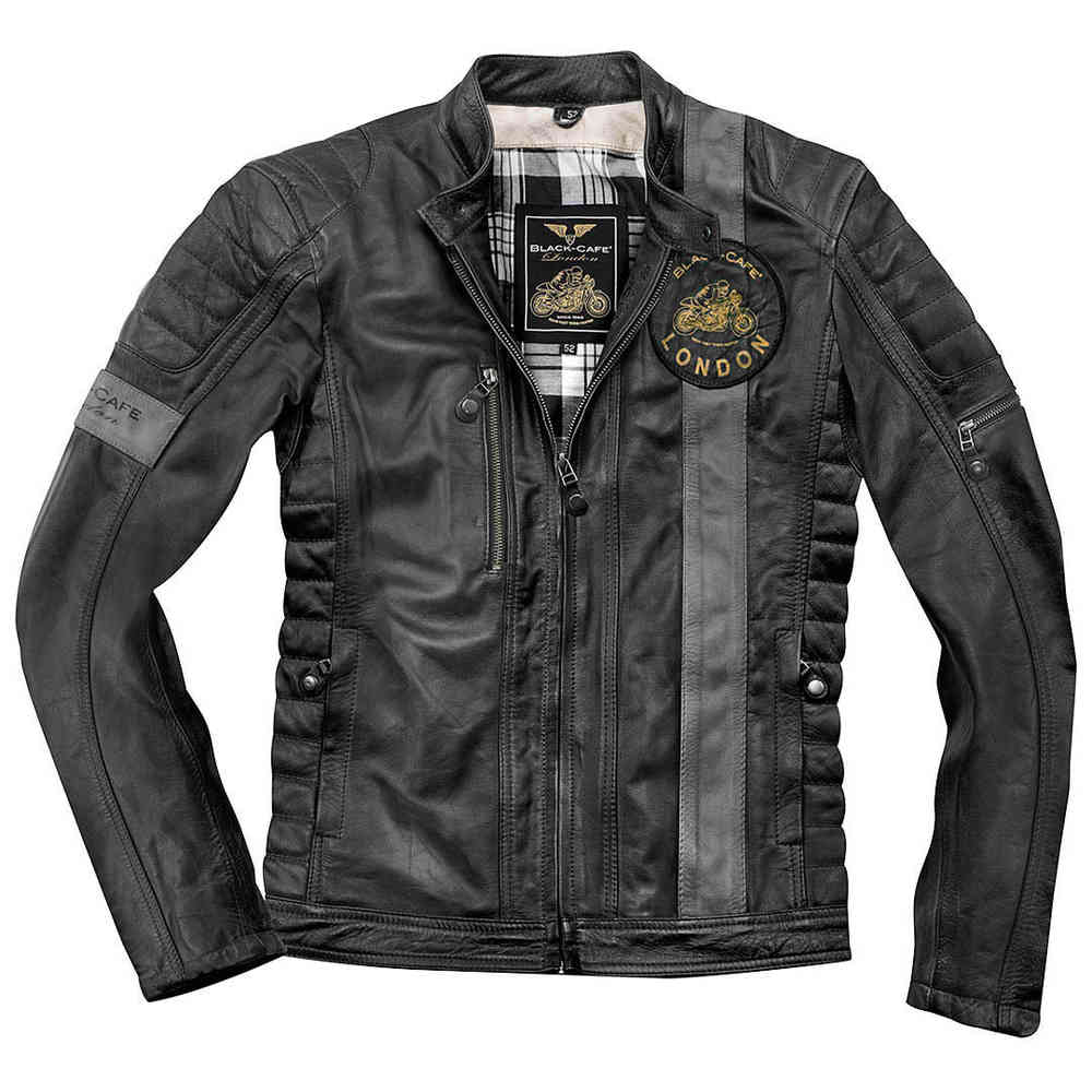 Black Cafe London Paris 2019 Motorrad Lederjacke