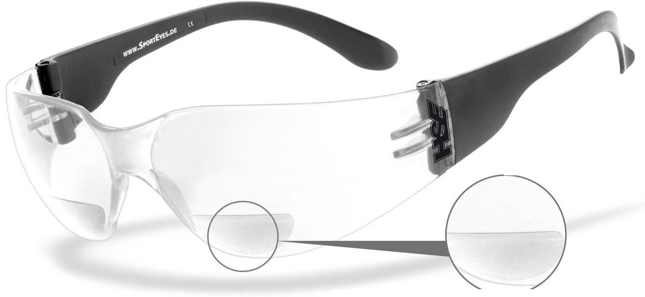 HSE Sport Eyes Sprinter 2.3 + 2,00 Sonnenbrille, transparent, transparent RC Modellbau