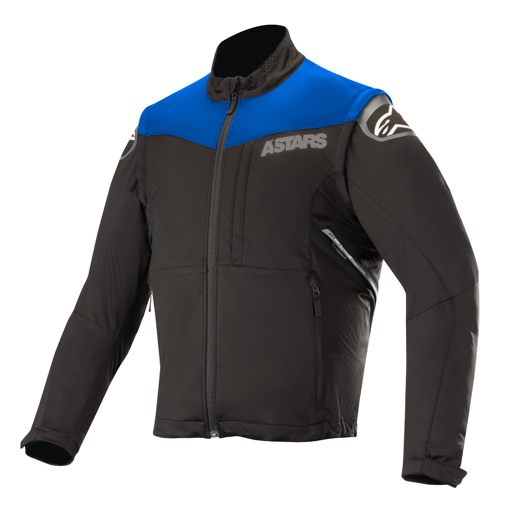 Alpinestars Session Race Motocross Jacke Schwarz Blau S