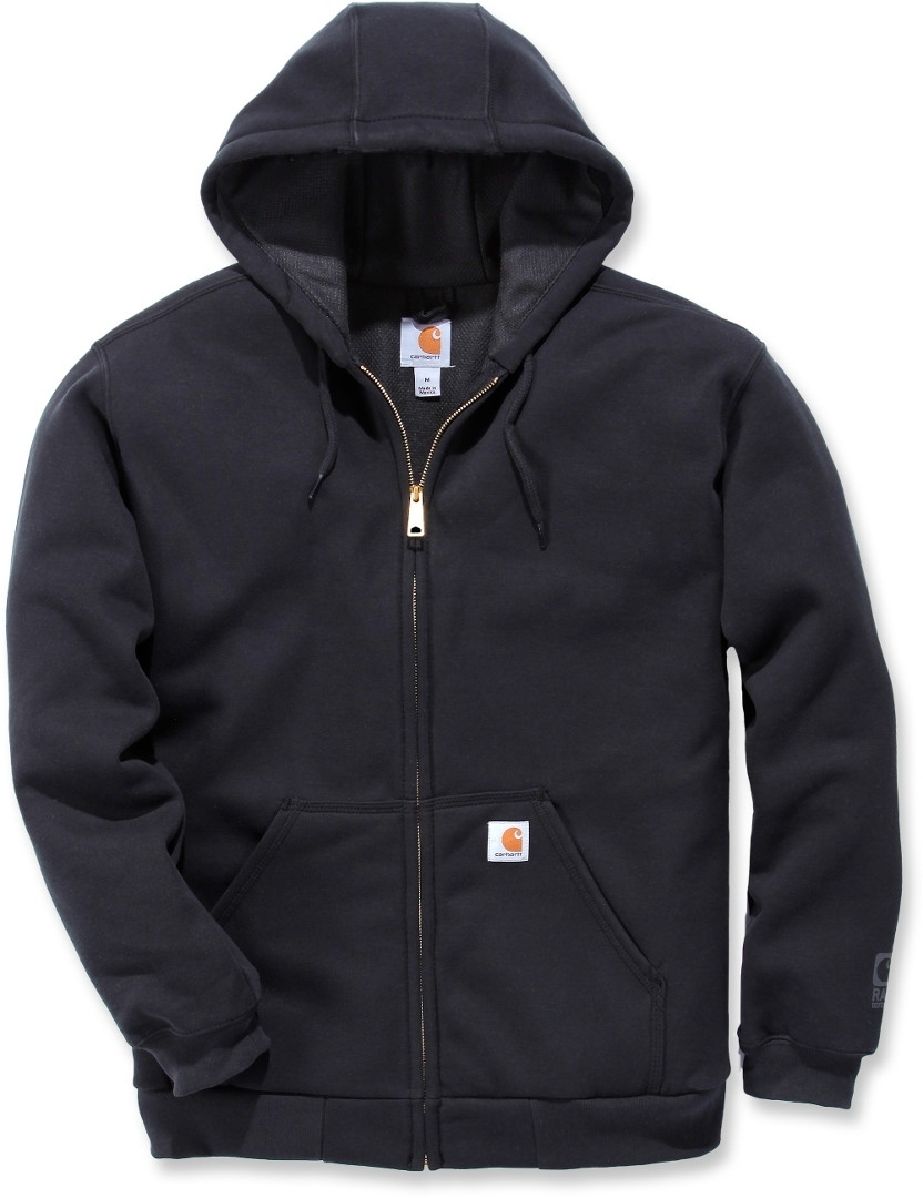 Carhartt Rutland Thermal Lined Zip Sweatshirt Schwarz S