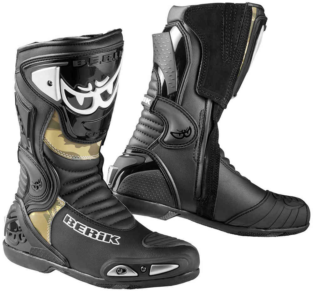 Berik Losail Camo Motorcycle Boots