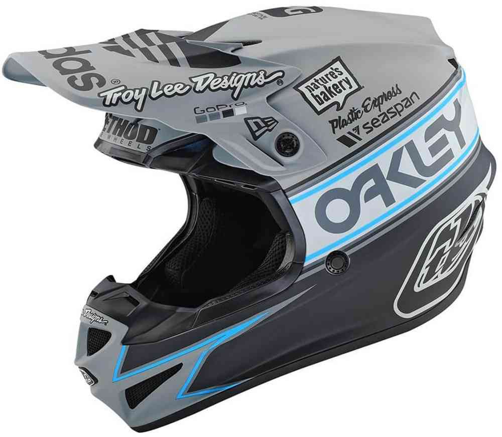 Troy Lee Designs Se4 Polyacrylite Team Edition 2 Motocross Helmet