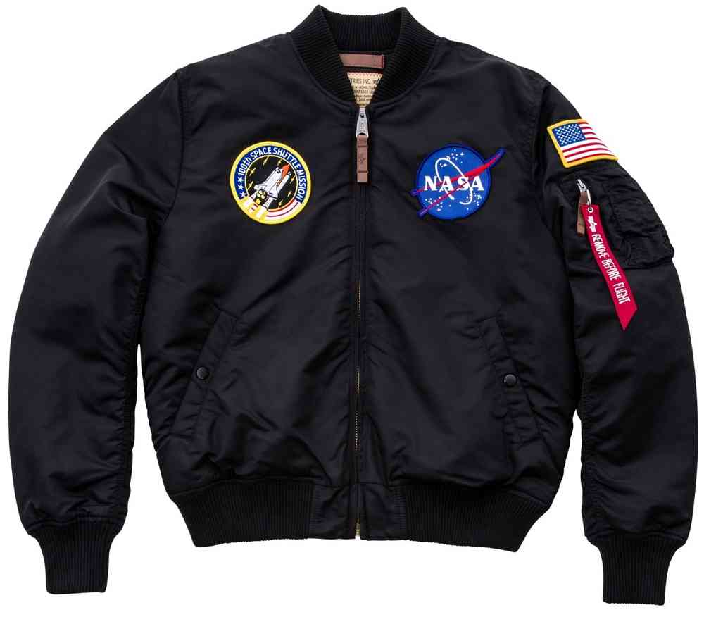 1 VF MA NASA Jacke Industries Alpha 54LqAj3cR