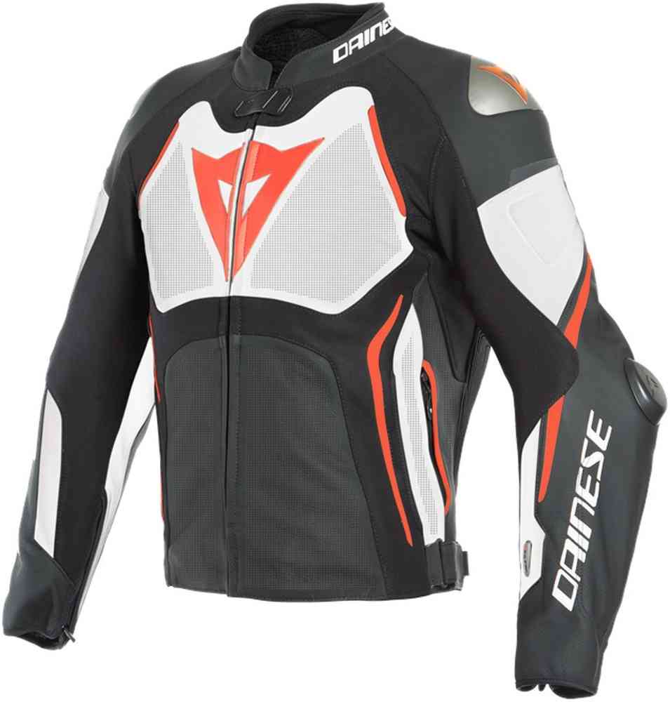 b3dfa42df1 Dainese Tuono D-Air® Airbag Perforated Motorcycle Leather Jacket ...