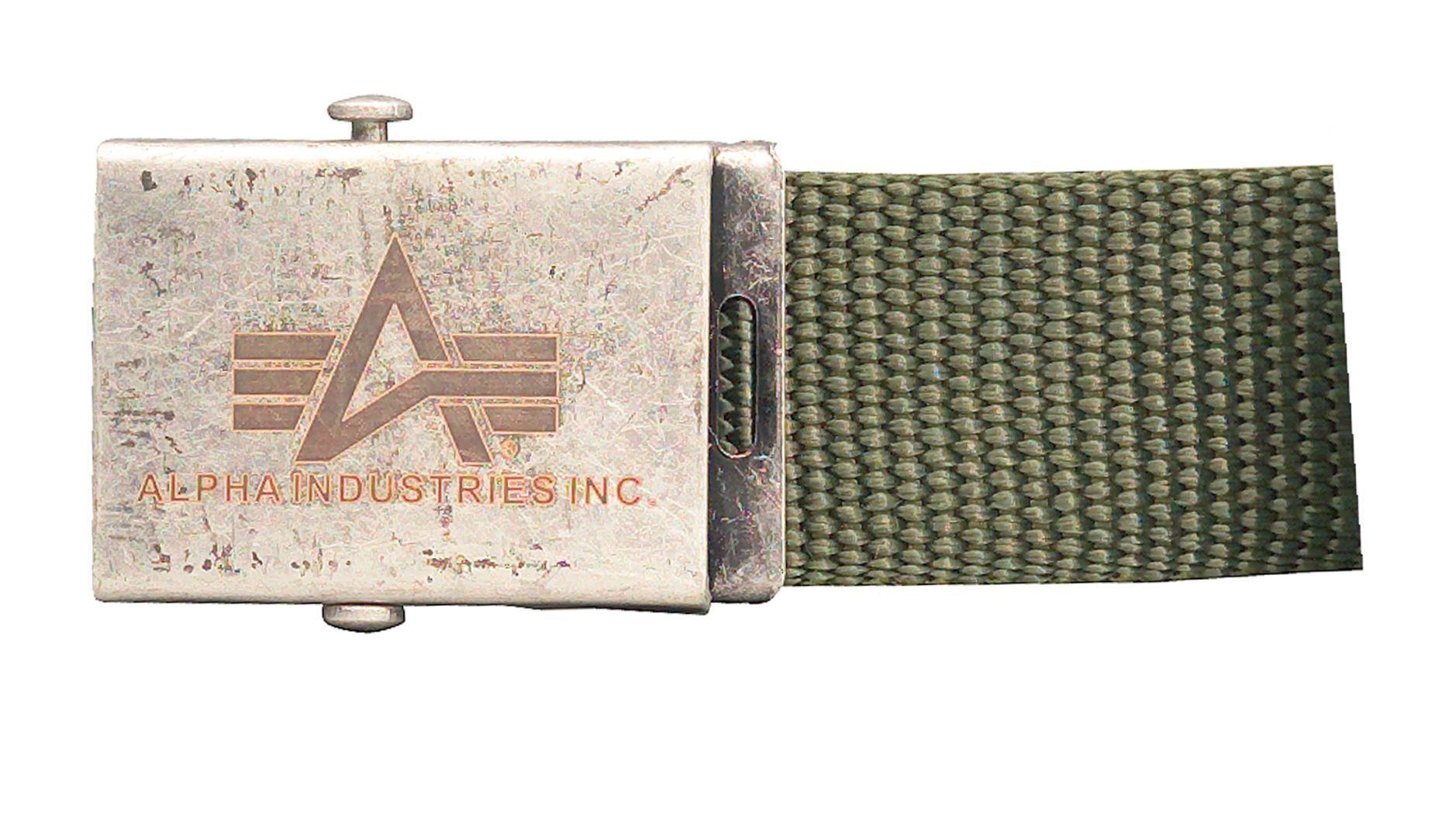 Alpha Industries Heavy Duty Gürtel 100906-11-ohne