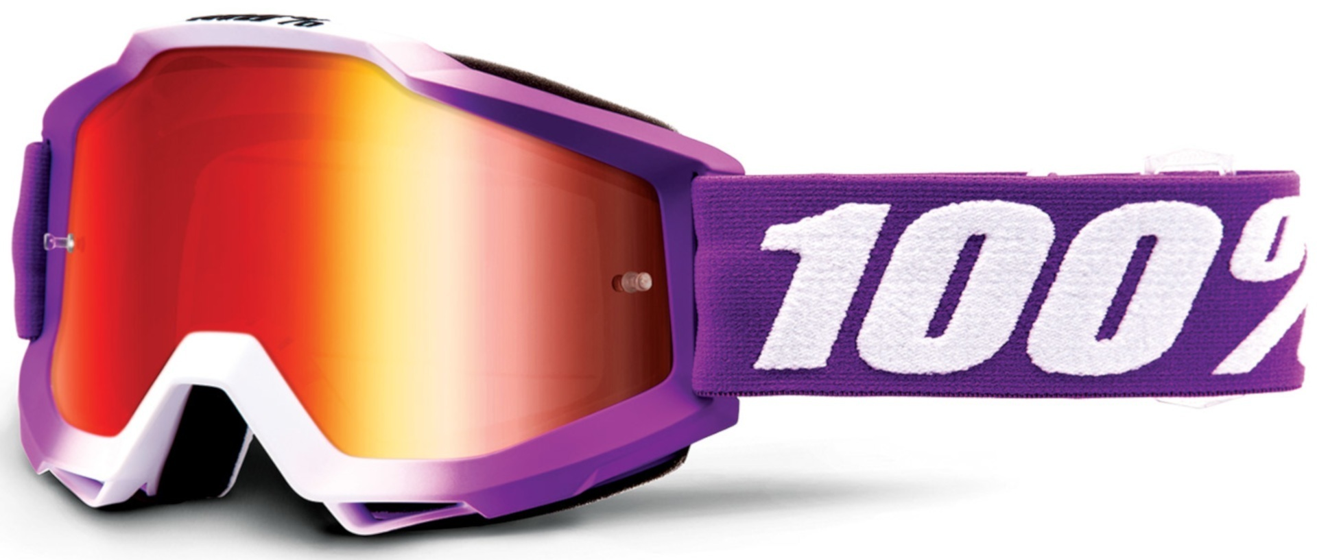 100% Accuri Framboise Motocross Brille, weiss-lila, weiss-lila RC Modellbau