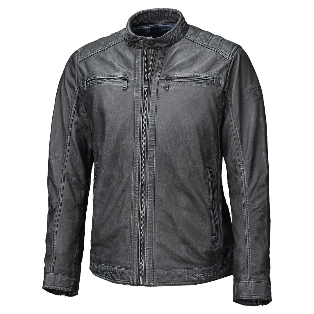 Held Harry Lederjacke Schwarz 48