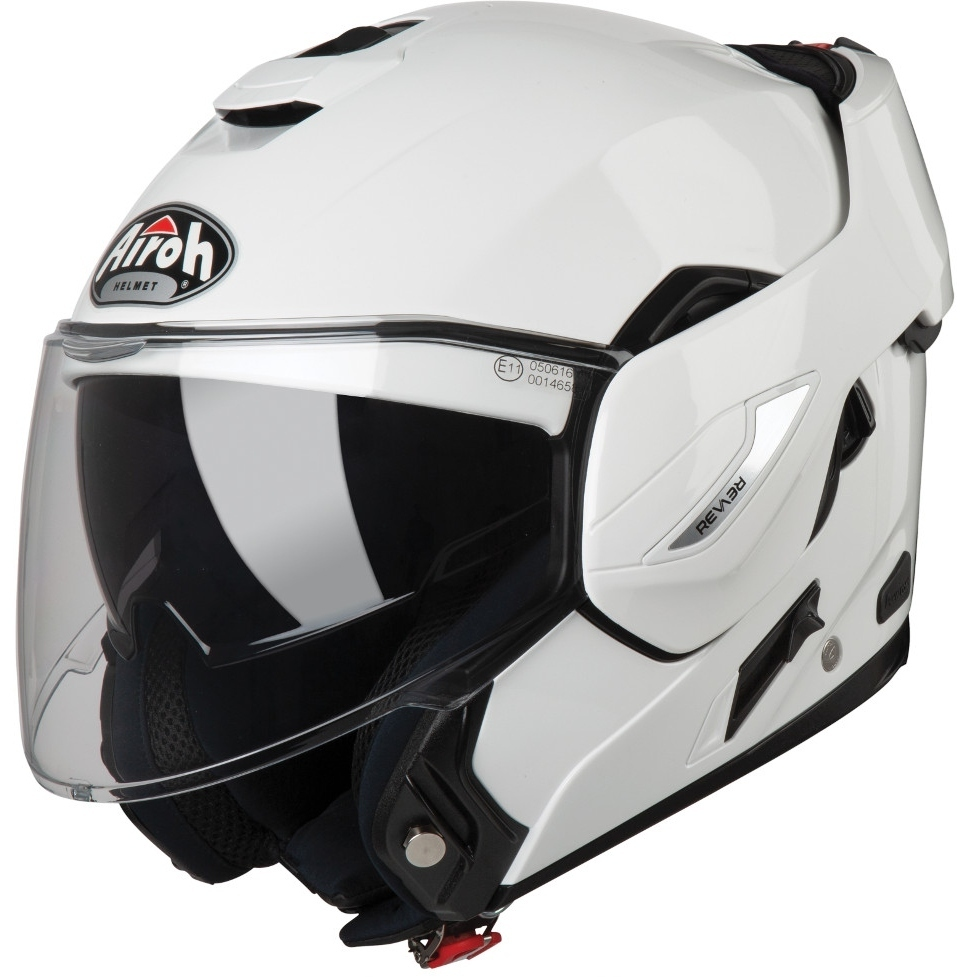 Airoh Rev 19 Color Klapphelm Weiss XS