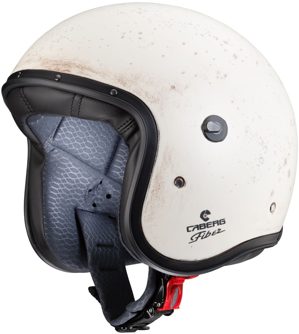 Caberg Freeride Brushed Jethelm Weiss XS